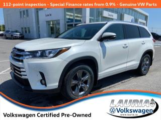 Used 2017 Toyota Highlander Limited AWD - LOADED for sale in PORT HOPE, ON