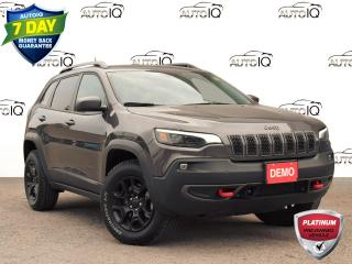 Used 2020 Jeep Cherokee Trailhawk Dealer Demonstrator for sale in St. Thomas, ON