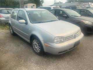 Used 2000 Volkswagen Golf AS-IS for sale in Mississauga, ON