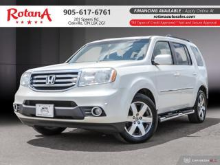 Used 2013 Honda Pilot Touring_Navigation_DVD_Rear Cam_Bluetooth for sale in Oakville, ON