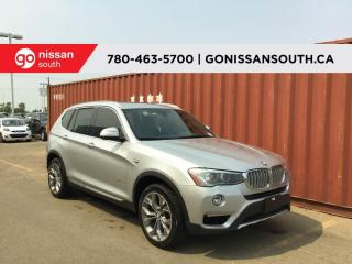 Used 2016 BMW X3 xDrive28i, PANO ROOF, NAVI for sale in Edmonton, AB