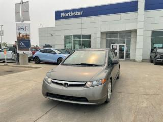 Used 2007 Honda Civic Sdn DX-G AUTO/POWERGROUP/CRUISE/AUX/AC for sale in Edmonton, AB