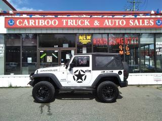 Used 2014 Jeep Wrangler SPORT for sale in Quesnal, BC