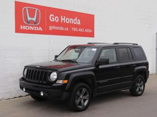 Used 2015 Jeep Patriot SPORT, 4WD for sale in Edmonton, AB