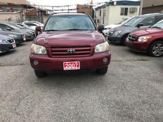 Used 2007 Toyota Highlander Sports 4WD for sale in Etobicoke, ON
