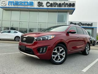 Used 2016 Kia Sorento 2.0L Turbo SX for sale in St Catharines, ON