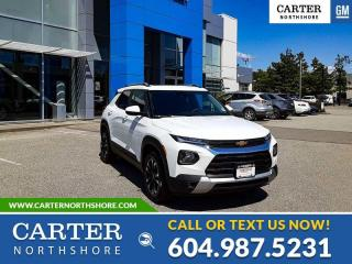 New 2022 Chevrolet TrailBlazer LT MOONROOF - REAR PARK ASSIST - HEATED SEATS for sale in North Vancouver, BC