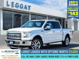 Used 2017 Ford F-150 Lariat for sale in Stouffville, ON