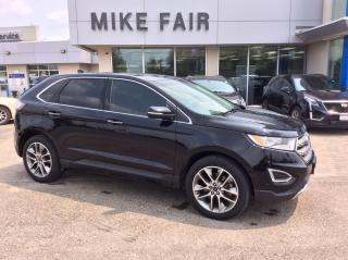 Used 2017 Ford Edge Titanium Keyless Start, Steering Wheel Controls, Heated Front Seats, Power Steering for sale in Smiths Falls, ON