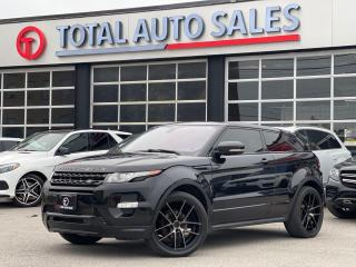 Used 2013 Land Rover Range Rover Evoque DYNAMIC | COUPE | RED LEATHER for sale in North York, ON
