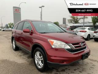Used 2010 Honda CR-V EX-L | Local One Owner | Navigation | Sunroof | Leather | Bluetooth | Power Group | for sale in Winnipeg, MB