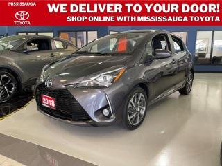 Used 2018 Toyota Yaris HATCHBACK SE for sale in Mississauga, ON