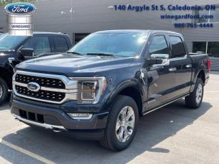 New 2021 Ford F-150 PLATINUM for sale in Caledonia, ON