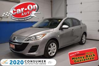 Used 2010 Mazda MAZDA3 SUNROOF   ALLOYS   COMFORT PKG   SUPER CLEAN for sale in Ottawa, ON