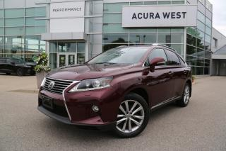 Used 2015 Lexus RX 350 Sportdesign Sport Design, Dealer maintained for sale in London, ON