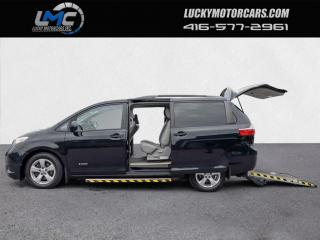 Used 2015 Toyota Sienna MOBILITY WHEELCHAIR VAN-BACKUP CAMERA-CERTIFIED for sale in Toronto, ON