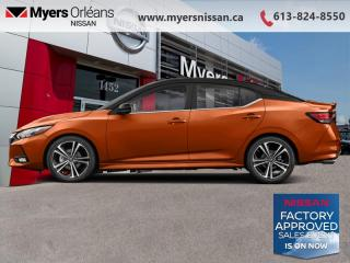 New 2021 Nissan Sentra SR CVT  -  Sunroof -  Heated Seats - $182 B/W for sale in Orleans, ON