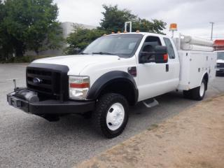 Used 2009 Ford F-350 SD Service Truck SuperCab Dually  4WD Diesel Power Tailgate And Winch for sale in Burnaby, BC
