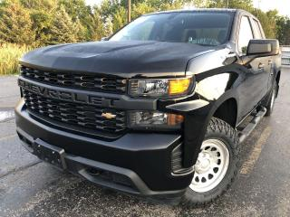 Used 2020 Chevrolet Silverado 1500 WT DBLE CAB 4WD for sale in Cayuga, ON