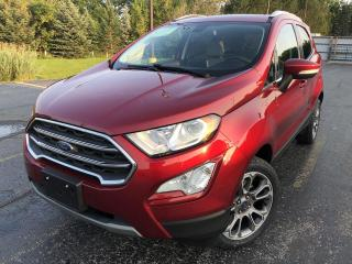Used 2018 Ford EcoSport Titanium AWD for sale in Cayuga, ON