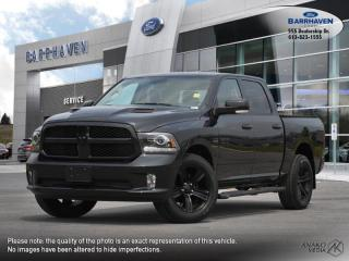 Used 2017 RAM 1500 NIGHT for sale in Ottawa, ON