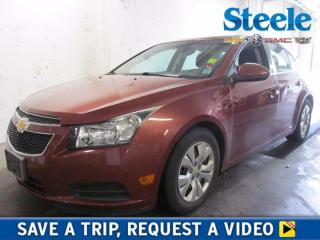 Used 2013 Chevrolet Cruze LT Turbo for sale in Dartmouth, NS