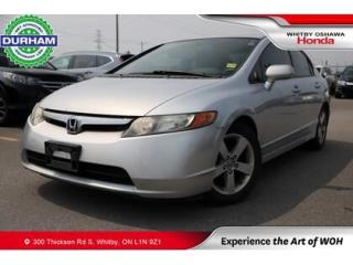 Used 2007 Honda Civic for sale in Whitby, ON