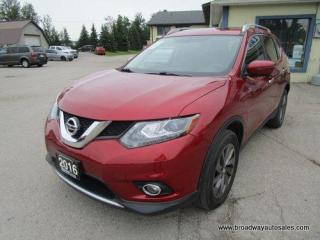 Used 2016 Nissan Rogue ALL-WHEEL DRIVE SL EDITION 5 PASSENGER 2.5L - DOHC.. NAVIGATION.. LEATHER.. HEATED SEATS.. BACK-UP CAMERA.. PANORAMIC SUNROOF.. SPORT & ECO MODE.. for sale in Bradford, ON