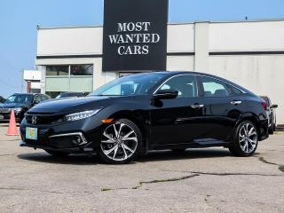 Used 2019 Honda Civic TOURING   NAVIGATION   LEATHER   SUNROOF   REMOTE START for sale in Kitchener, ON