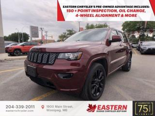 Used 2018 Jeep Grand Cherokee Altitude IV   1 Owner   Sunroof   for sale in Winnipeg, MB