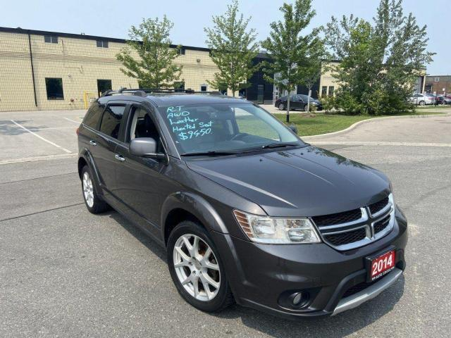 2014 Dodge Journey R/T, AWD, Leather, Auto, 3/Y warranty available.