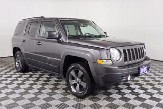 Used 2015 Jeep Patriot Sport/North 1 OWNER - NO ACCIDENTS | 4X4 | LEATHER | SUNROOF | 2 SETS OF WHEELS | HEATED SEATS for sale in Huntsville, ON