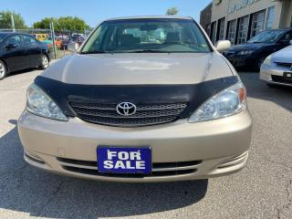 Used 2003 Toyota Camry WINTER TIRES INCLUDED, Certified, ALLOY WHEELS for sale in Woodbridge, ON