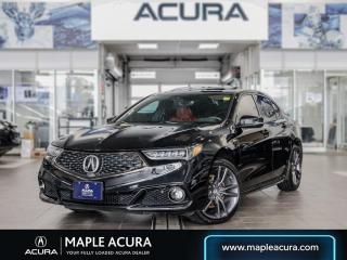 Used 2019 Acura TLX Tech A-Spec V6 SH-All Wheel Drive for sale in Maple, ON