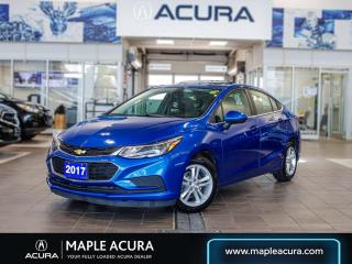 Used 2017 Chevrolet Cruze LT Auto, One Owner, very small claim on car fax. for sale in Maple, ON