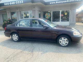 Used 2000 Honda Civic EX-G AS-IS for sale in Mississauga, ON