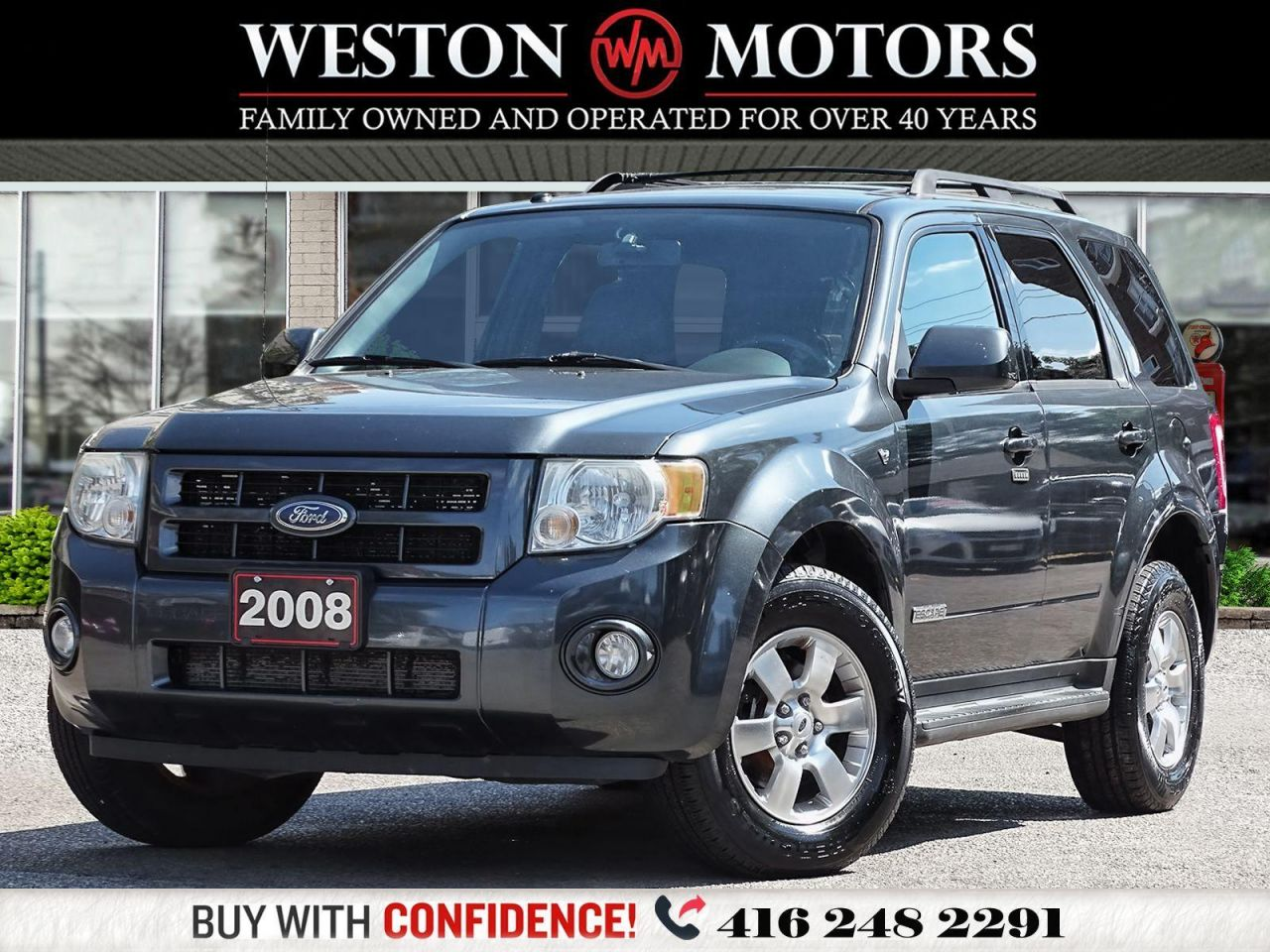 2008 Ford Escape LIMITED*AWD*LEATHER*SUNROOF*SOLD AS IS!!*