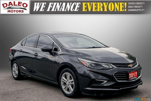2017 Chevrolet Cruze Premier / BACK UP CAM / LEATHER / HEATED SEATS
