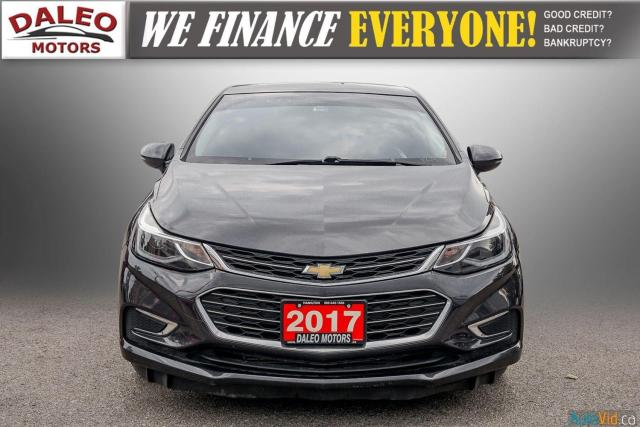 2017 Chevrolet Cruze Premier / BACK UP CAM / LEATHER / HEATED SEATS Photo3