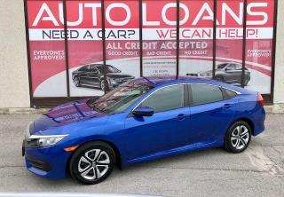 Used 2017 Honda Civic LX-ALL CREDIT ACCEPTED for sale in Toronto, ON