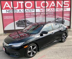 Used 2016 Honda Civic TOURING-ALL CREDIT ACCEPTED for sale in Toronto, ON
