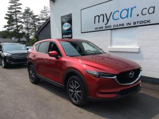 Used 2017 Mazda CX-5 GT LEATHER. SUNROOF. NAV. HEATED SEATS. BACKUP CAM! for sale in Richmond, ON