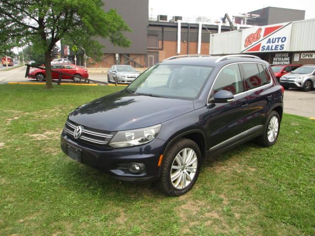 2017 Volkswagen Tiguan Comfortline ~ AWD ~ LEATHER ~ PANO ROOF ~ REAR CAM