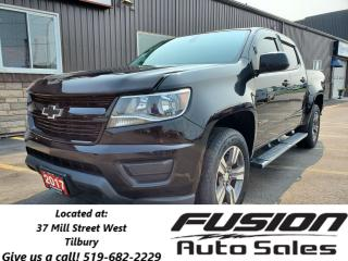 Used 2017 Chevrolet Colorado CREW CAB-V6-4X4-1 OWNER-LOCAL TRADE for sale in Tilbury, ON