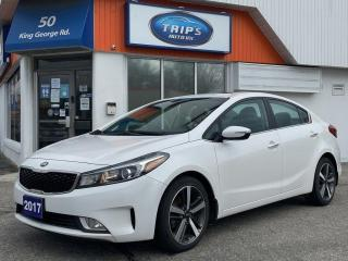 Used 2017 Kia Forte 4dr Sdn Auto EX+|1 OWNER| LOW KMS| LEATHER|SUNROOF for sale in Brantford, ON