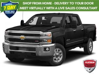 Used 2018 Chevrolet Silverado 2500 HD High Country 1 Owner for sale in Tillsonburg, ON
