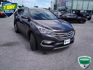 Used 2017 Hyundai Santa Fe Sport 2.4 Luxury | CLEAN CARFAX | ALLOYS | KEYLESS ENTRY | REVERSE CAMERA | for sale in Barrie, ON
