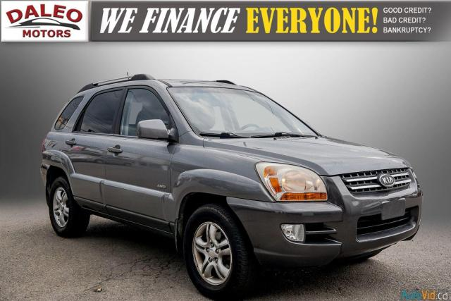 2005 Kia Sportage EX / LEATHER / SUNROOF / COMES FULLY CERTIFIED /