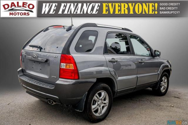 2005 Kia Sportage EX / LEATHER / SUNROOF / COMES FULLY CERTIFIED / Photo7
