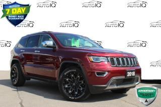 Used 2018 Jeep Grand Cherokee Limited LIMITED EDITION! NAVIGATION LEATHER PANO SUNROOF for sale in Hamilton, ON